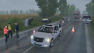 Cadillac Escalade | Caminos de Hungría | Euro Truck Simulator 2