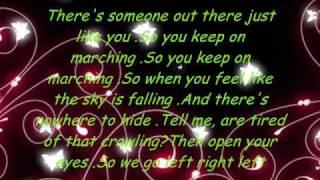 Marching|Paula Deanda + Lyrics =♥