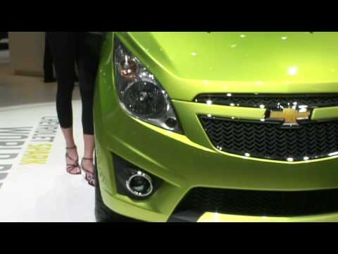 Chevrolet Spark at the Geneva Motor Show