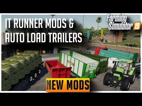 New ModHub mods, IT Runner, Duetz 7 Series as well as the