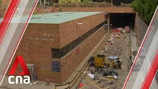 Hong Kong PolyU protesters weigh escape options