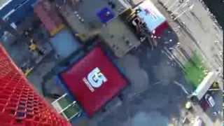 Смотреть онлайн Прыжок на воздушную подушку с 10-этажки