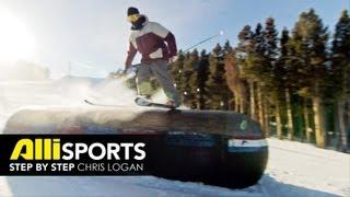 Chris Logan Freeski Trick Tip, 270 On 270 Off - Alli Sports Step by Step