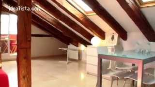 preview picture of video 'idealista.com: ático de 140 m2 en venta en el barrio de salamanca. inmobiliaria hq realty'