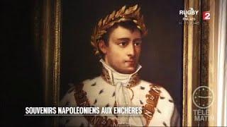 Adjugé vendu - Souvenirs napoléoniens aux enchères