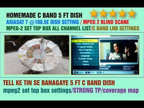 asiasat 7 at 105 5°e 90cm dish mpeg-2 channels - смотреть онлайн на