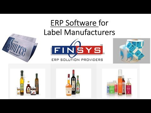 ERP Software for Label Manufacturing, Woven Label Packaging