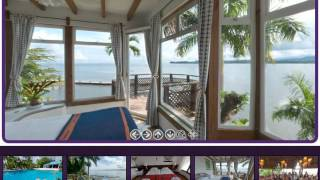 preview picture of video 'villa del caribe  livingston guatemala'
