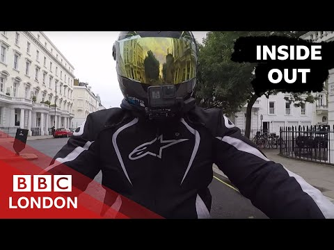 London's food couriers under attack - BBC London (gangs stealing bikes)