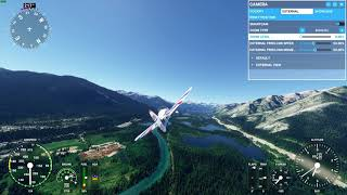 Microsoft Flight Simulator 2020 - Banff, Alberta, Canada