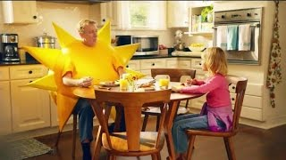TV Commercial Spot - Jimmy Dean - Breakfast Cooked In A Microwave - Little Girl Shine On