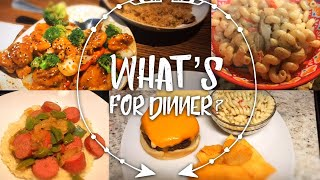 WHAT'S FOR DINNER | WEEK OF MEALS