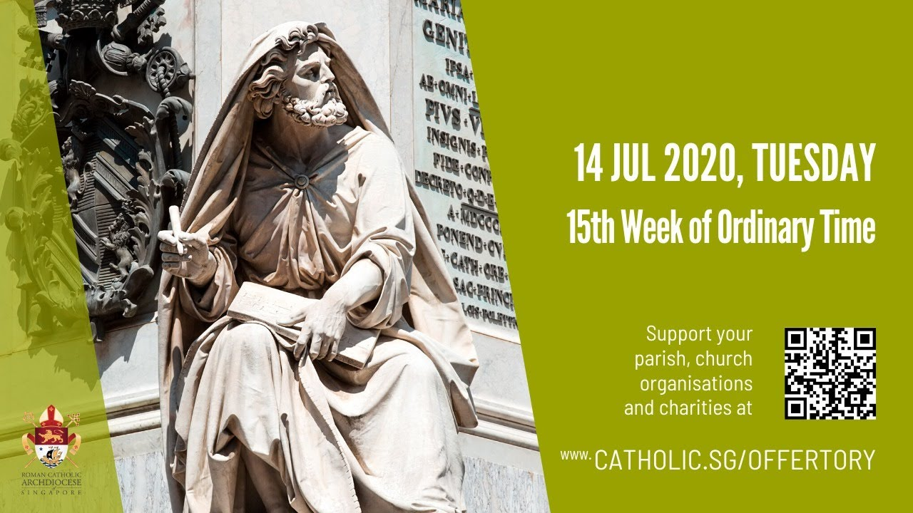 Catholic Daily Mass Online 14th July 2020