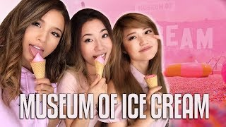 VISITING THE MUSEUM OF ICE CREAM Ft. Pokimane & AngelsKimi