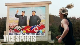 What It's Like to Run a Marathon in North Korea