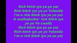 Die Antwoord - Rich Bitch w/ Lyrics on Screen