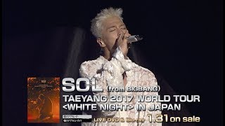 SOL (from BIGBANG) - FEAR -MINO feat.TAEYANG- (TAEYANG 2017 WORLD TOUR [WHITE NIGHT] IN SEOUL)