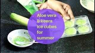 Aloe Vera Ice Cubes For Skin In Telugu Th Clip