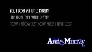 Tennessee Waltz + Anne Murray + Lyrics / HD