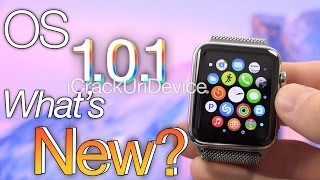 NEW Apple Watch OS 1.0.1 Update: iOS 8.3 Equivalent, OS 1.0.1 Vs 1.0 Changes, Features & How To