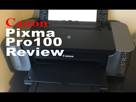 Canon Pixma Pro 100 Review and Printing Tips