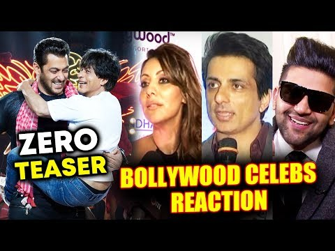 Download Salman-Shahrukh के ZERO TEASER पर Bollywood Celebs का Reaction HD Video