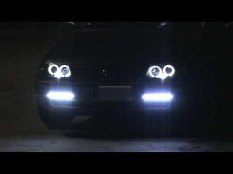 Opel Astra F Angel Eyes Hid XENON 6000K