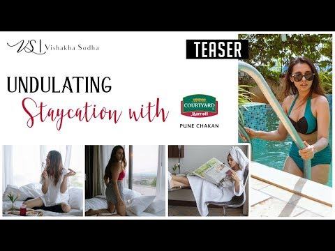 TRAVEL V LOG: Undulating Staycation with Courtyard Marriott Pune Chakan | Vishakha Sodha