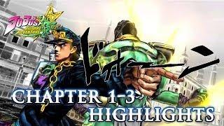 JoJo's Bizarre Adventure: All Star Battle - PS3 - First Trailer - Part 1, 2 & 3