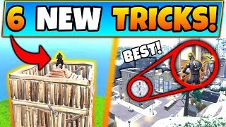 6 WEIRD TRICKS in Fortnite You NEED TO KNOW! - Creative New Tips in Battle Royale!