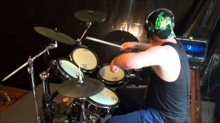 """""""Twist of Cain"""" by Danzig, DRUM COVER"""