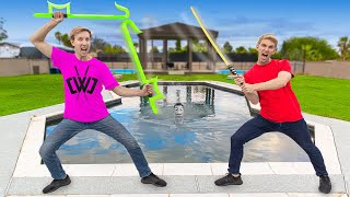 Spy Gadget Training with Chad Wild Clay at TOP SECRET Ninja Safe House!! (Hackers Spotted)