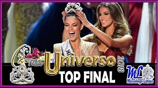 TOP FINAL MISS UNIVERSO 2018