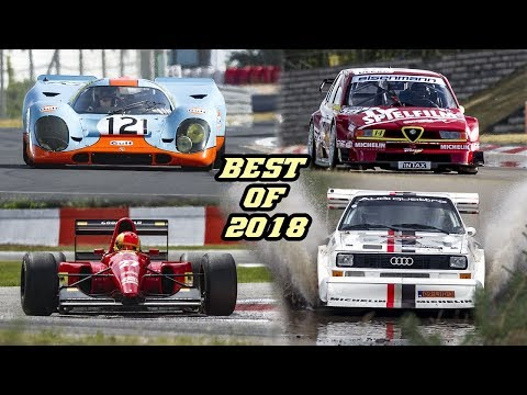 BEST OF 2018 - Motorsport sounds (S1 Quattro PikesPeak, F1 GTR, 917, 155 TI DTM, F1, Rally, GT, )