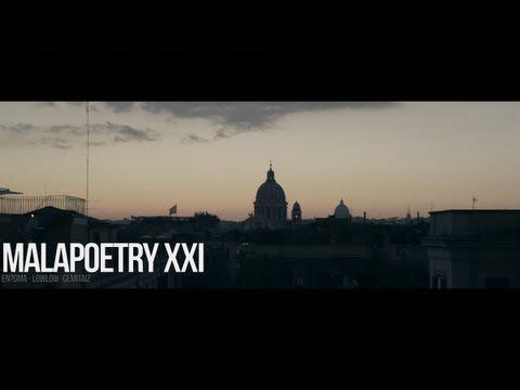 MALAPOETRY XXI - En?gma, Low Low, Gemitaiz - Prod. by Denny The Cool (OFFICIAL VIDEO)