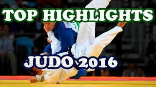 TOP HIGHLIGHTS JUDO - 2016