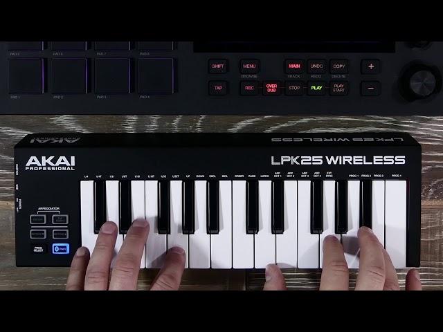 MPC Lounge: Pairing Bluetooth MIDI Keyboards
