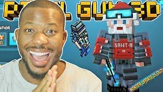 MY FIRST 15.6 WINTER UPDATE GAME!! | Pixel Gun 3D