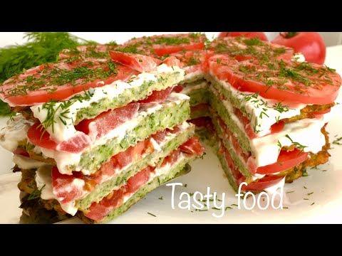 Вкуснейший Торт из Кабачков! Обалденная Закуска из Кабачков!