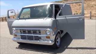 1973 Ford Econoline custom van E-100 - Video Youtube