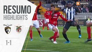Highlights | Resumo: Portimonense 1-1 Santa Clara (Liga 19/20 #10)