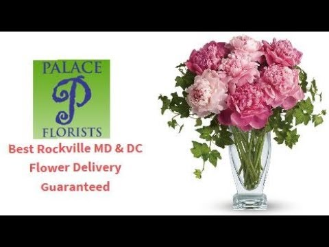 Top Wedding-Funeral Flowers DC-VA-MD, Palace Florist Premiere DC Corporate-Event Flower Delivery