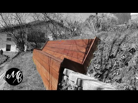 DIY Gartenbank selber bauen aus Holz