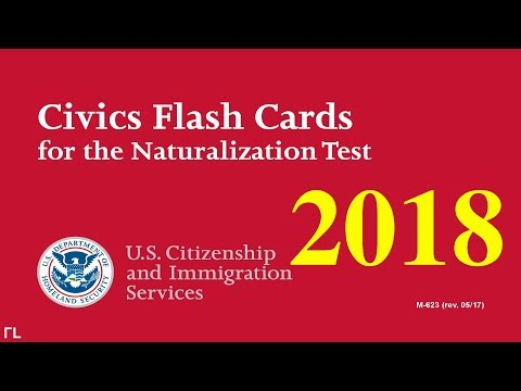 US Citizenship Naturalization Test 2018 (OFFICIAL 100 TEST QUESTIONS & ANSWERS) Mp3