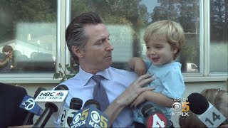 California Gubernatorial Candidates Cast Votes In Primary Election