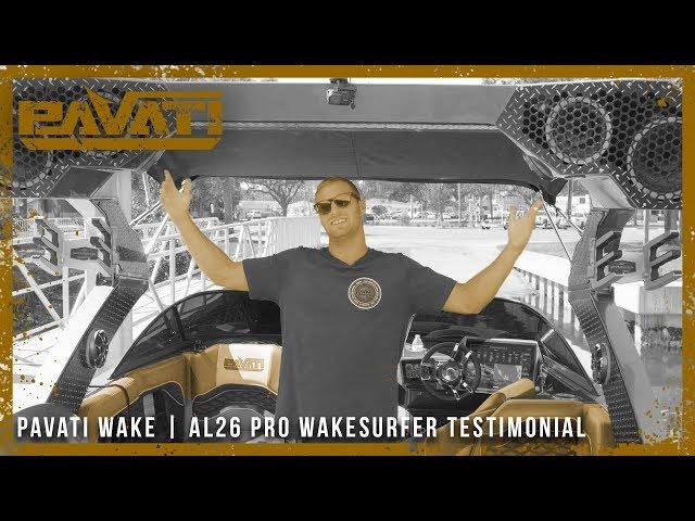 Pavati AL26 Wake Surfing Boat Walkthrough with World Champ John Akerman