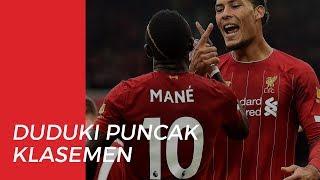 Liverpool Berhasil Menduduki Pundak Klasemen dengan Total Raihan Poin 25