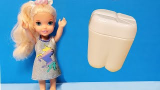 Tooth Fairy ! Elsa And Anna Toddlers