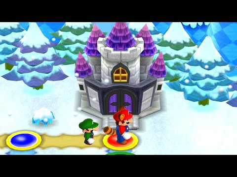 New Super Mario Bros. 2 - 100% Walkthrough - World 4 (2 Player)