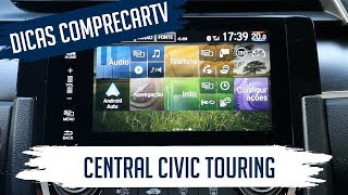 Central Multimídia: Civic Touring